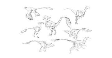 draw dinosaurs challenge