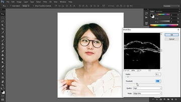 find outlines in photo