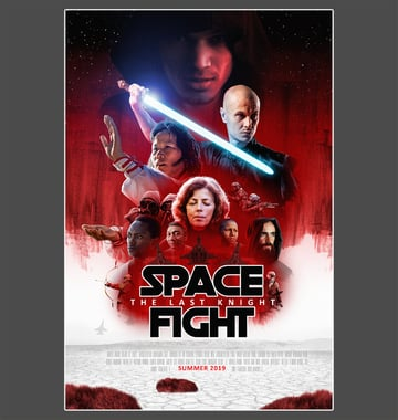 how to make movie poster adobe photoshop