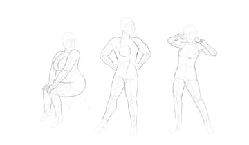 draw cartoon body