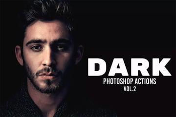 Dark Photoshop Actions Vol 2