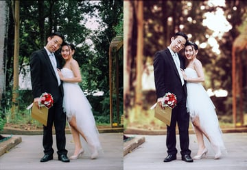 how to create wedding photoshop action