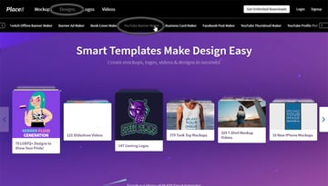 placeit youtube banner maker