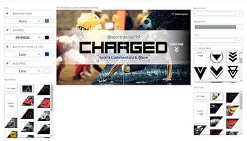 banner interactive editing