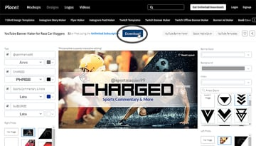 download banner design
