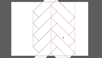 create mesh pattern