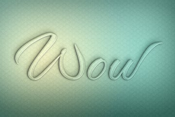 Glass Texture Photoshop Tutorial glass letters effect