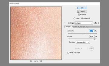 add skin texture