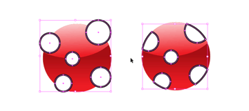 add dots and intersect
