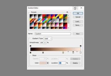 add colors to gradient