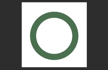 draw a thick circle