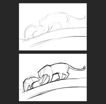 how to sketch in photoshop