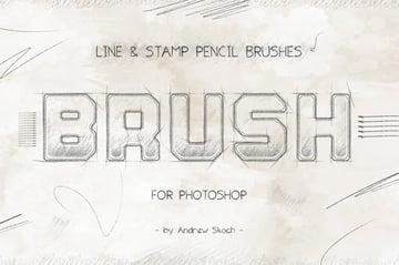 photoshop pencil brushes