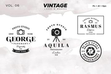 Vintage Logo & Badge