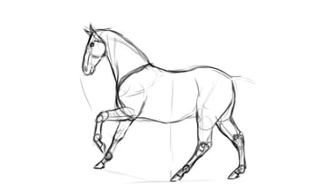 dark sketching example