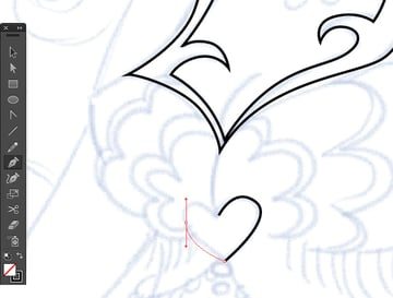 Pen Tool preview option in adobe illustrator CC tracing points