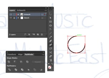 curvature tool shift creating perfect circle in adobe illustrator cc 2014 release