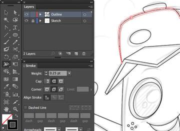adobe illustrator width tool shift w width stroke