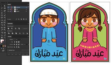 stroke panel variation color linework eid