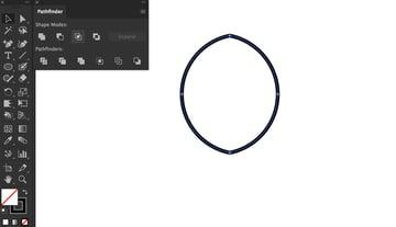 pathfinder panel shape mode intersect shape