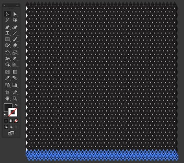 duplicate weave form to base artboard Command d shortcut to transform again