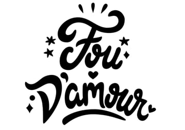 fou damour text editing curves kerning spacing negative positive space