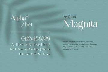 Magnita serif web font similar to Georgia font family georgia
