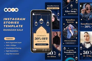 A ramadan sale instagram stories Kit available on envato elements