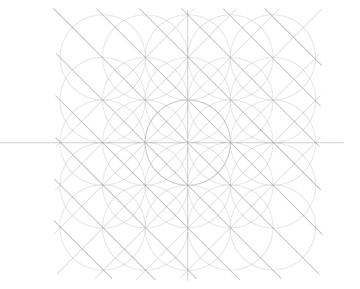 Five-Circle Grid step 9b
