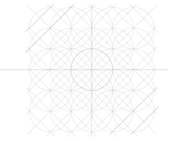 Five-Circle Grid step c