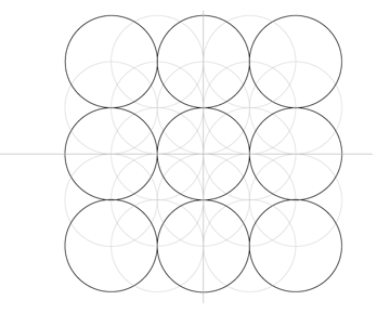 The nine circles