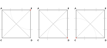 Octagon in a square step 3-5