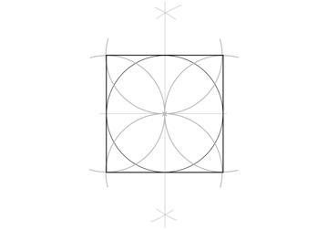Static Square step 5