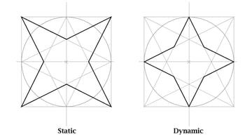 Static and dynamic stars