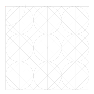 Tiled Static Octagons step 1
