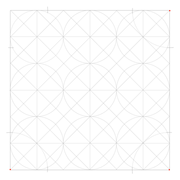 Tiled Static Octagons step 2