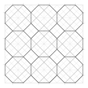Tiled Static Octagons step 5