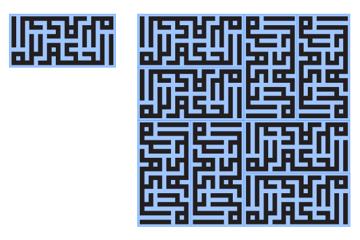 Tiling a rectangle with a regular ratio