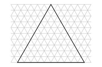 Basic triangular grid