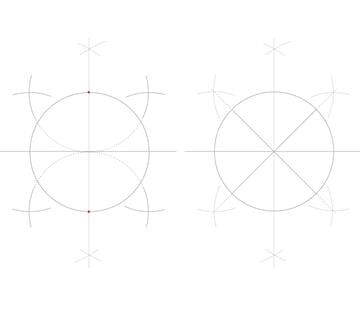Rosette window step 2