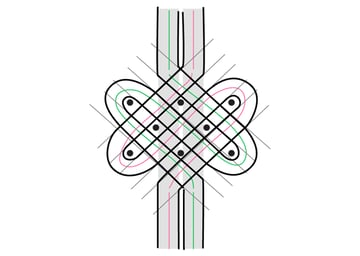 Arabic Calligraphy Embellishments Tutorial Knotwork step 5