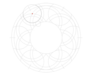 Knot in circle step 9a