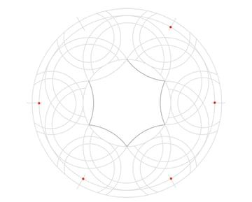 Knot in circle step 10b