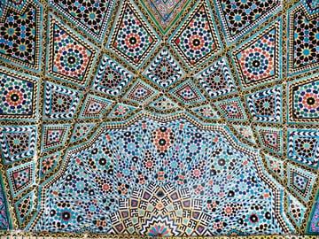 Ceiling of Nasr el Molk mosque