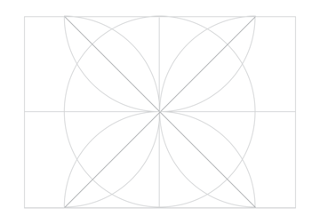 Rosette in rectangle step 12