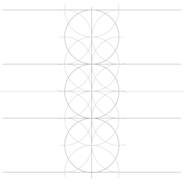 Rosette in rectangle step 5