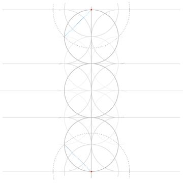 Rosette in rectangle step 6