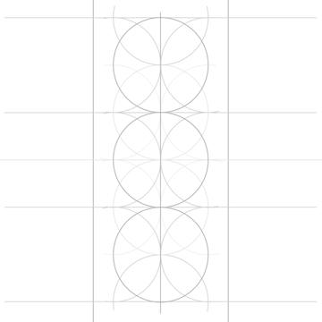 Rosette in rectangle step 7