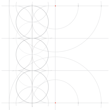 Rosette in rectangle step 8