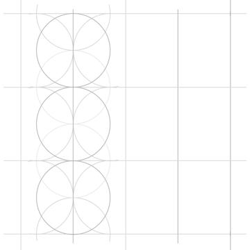 Rosette in rectangle step 9